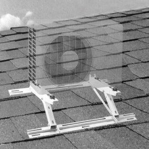 Brackets for adjustable rooftop