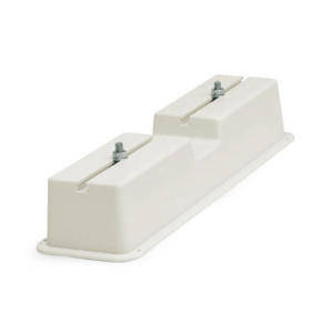 Bracket for plastic flat rooftop 120x72x420 (cream)