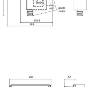 Kondenzvíz szifon KIT komplett