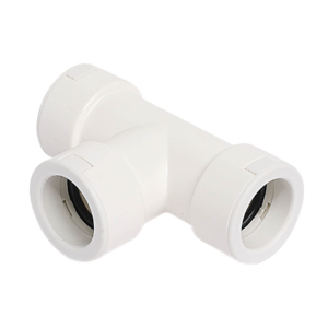 T-joint 20 mm white