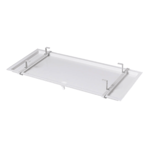 Standard trays for condensate drain