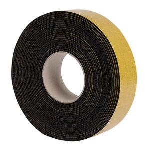 Szigetelő szalag öntapadós fekete 50mmx3mmx10m kondenzcsőhöz gumi